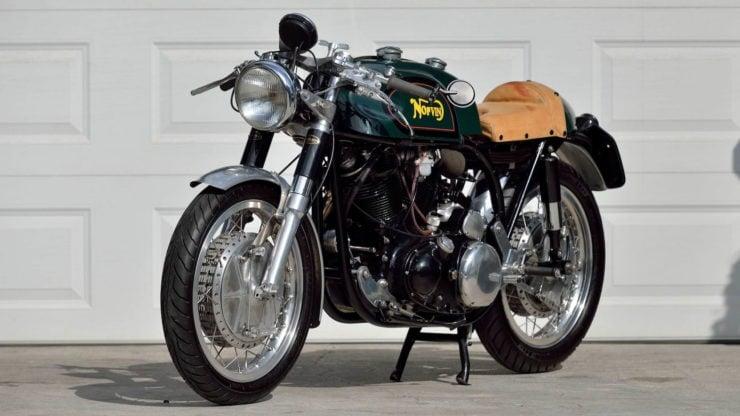 Norvin - Norton - Vincent Cafe Racer Front