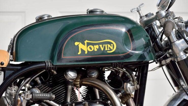 Norvin - Norton - Vincent Cafe Racer Fuel Tank
