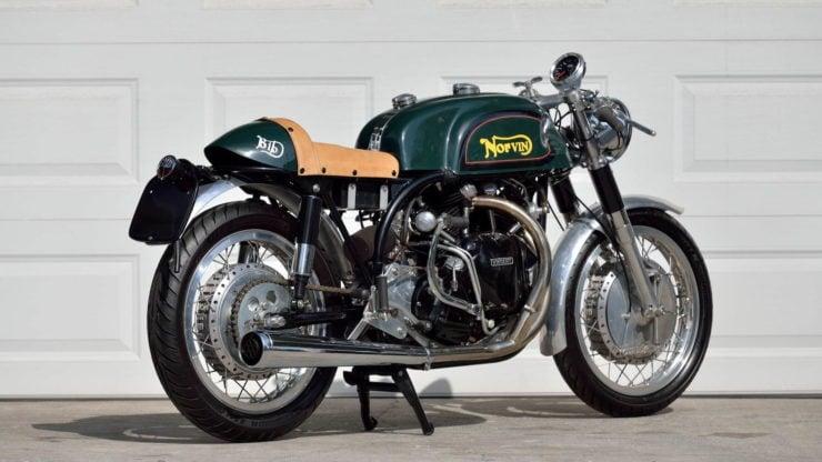 Norvin - Norton - Vincent Cafe Racer Rear