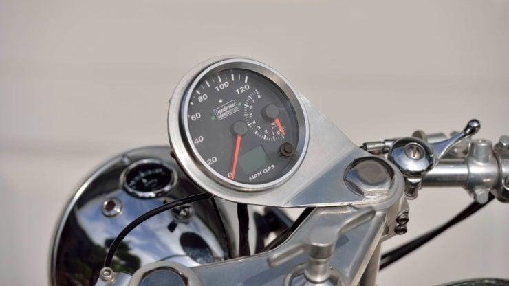 Norvin - Norton - Vincent Cafe Racer Speedo