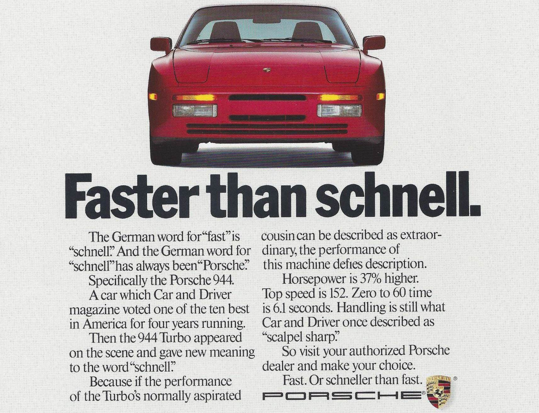 A Brief History of the Porsche 944 - Don't Buy One Before Reading This