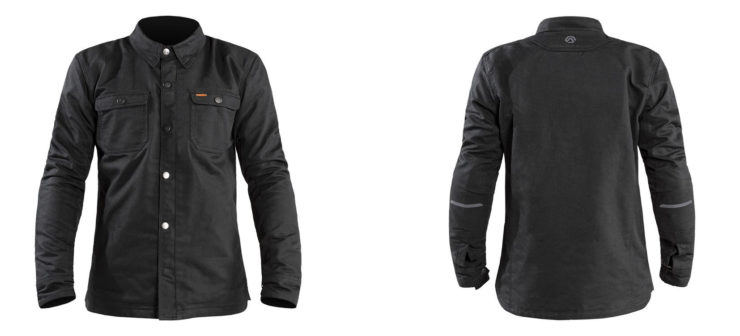 REAX Fairmount Riding Shirt Front and Back