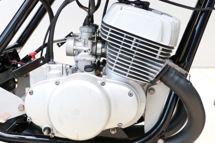 Rickman Metisse-Suzuki Engine