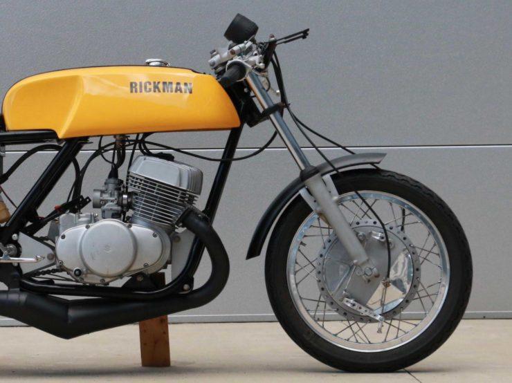Rickman Metisse-Suzuki Front End