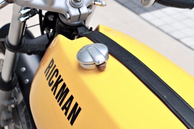 Rickman Metisse-Suzuki Fuel Tank