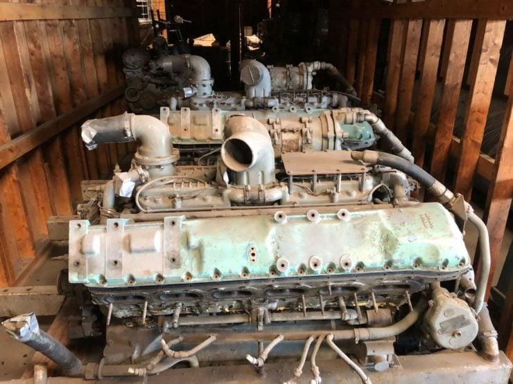 Rolls-Royce V12 Meteor Tank Engine