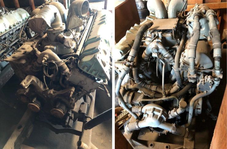 Rolls-Royce V12 Meteor Tank Engine Side 2