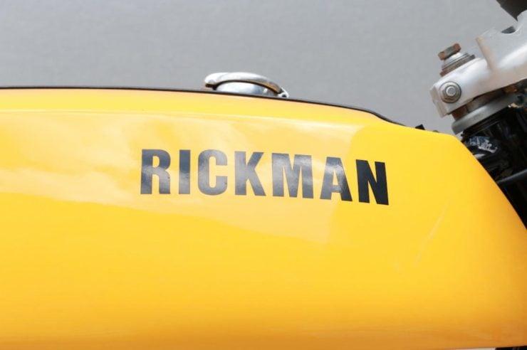 Rickman Metisse-Suzuki Tank