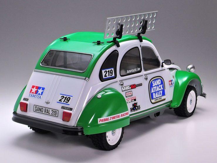 Tamiya Citroën 2CV Rally Back