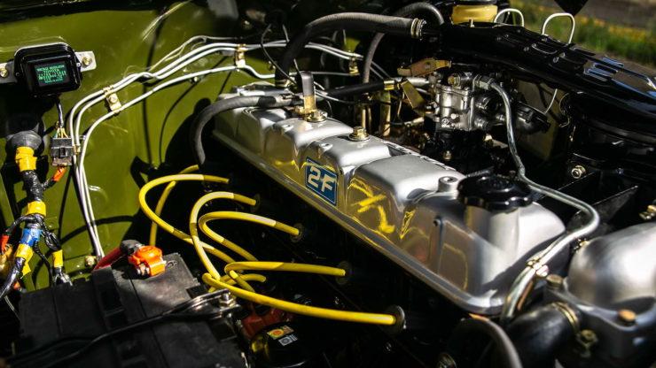 Toyota FJ-45 Land Cruiser Pickup Engine