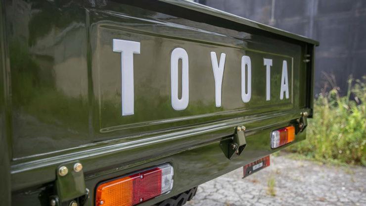 Toyota FJ-45 Land Cruiser Pickup Gate
