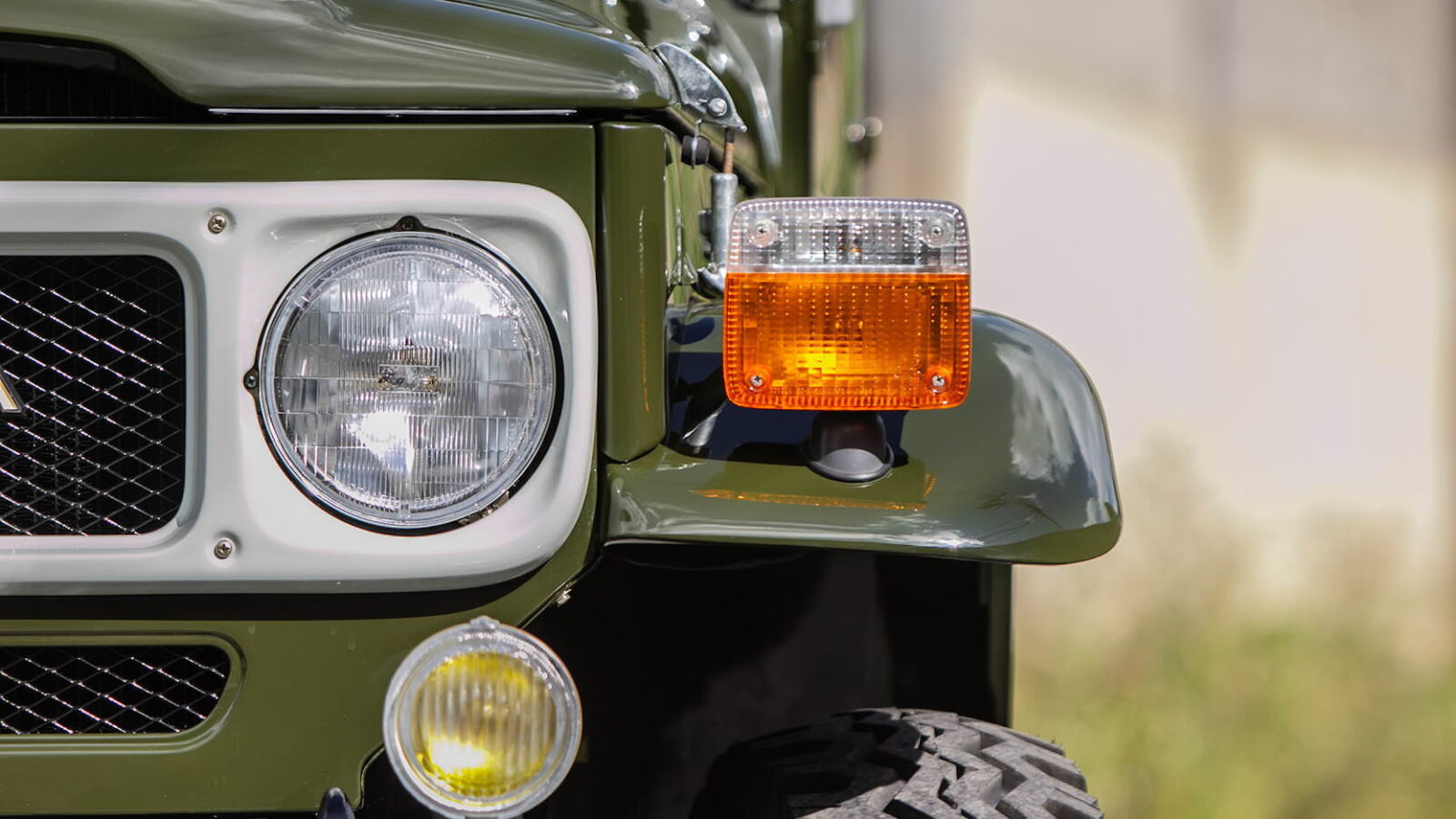 Toyota FJ-45 Land Cruiser Pickup Headlight