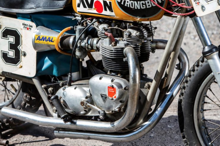 Triumph Strongbow Flat Tracker Engine 2