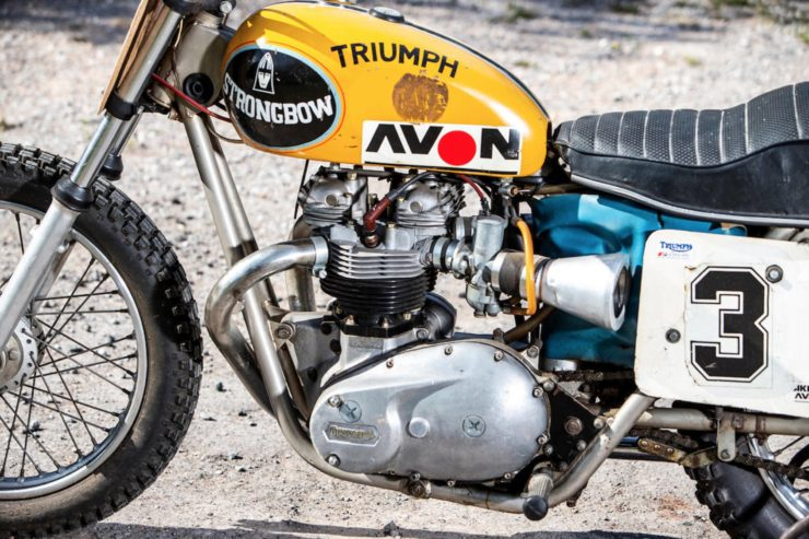 Triumph Strongbow Flat Tracker Engines
