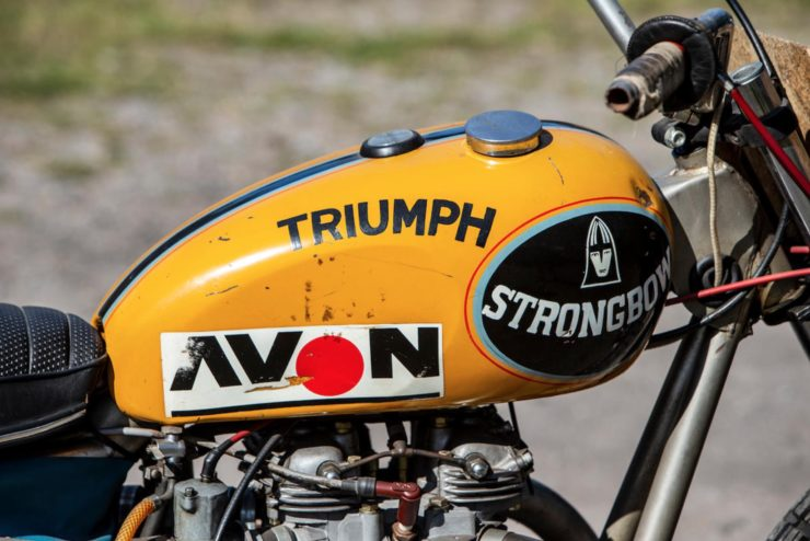 Triumph Strongbow Flat Tracker Fuel Tank