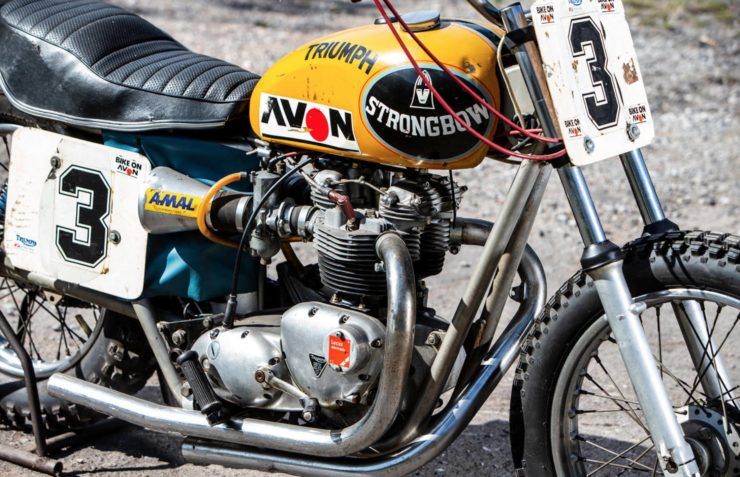 Triumph Strongbow Flat Tracker Main