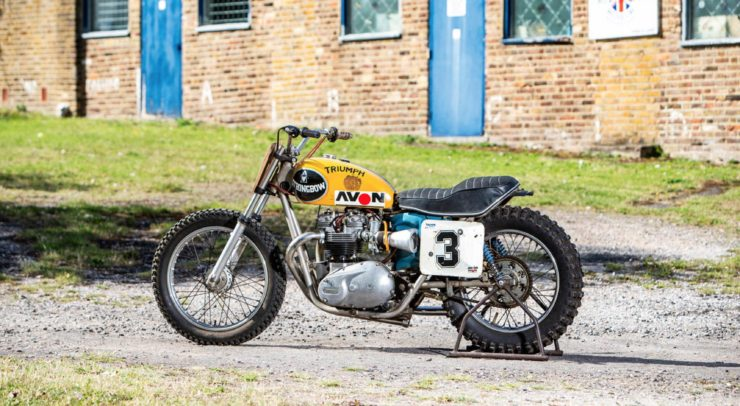 Triumph Strongbow Flat Tracker Motorcycle