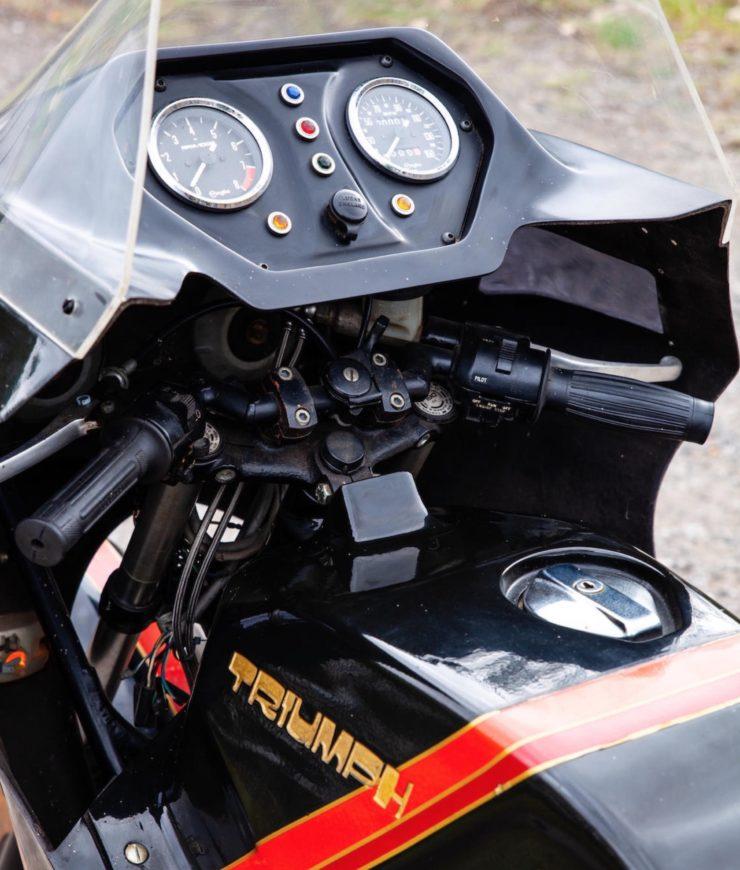 Triumph TS8-1 Prototype Dashboard