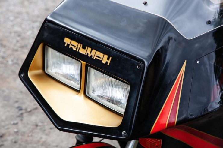 Triumph TS8-1 Prototype Tail Light