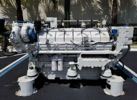 Twin-Turbo Deutz V16 Marine Diesel Engine