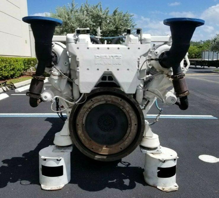 Twin-TurboDeutz V16 Marine Diesel Engine Flywheel
