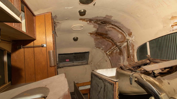 Western Clipper Motorhome Interior 2