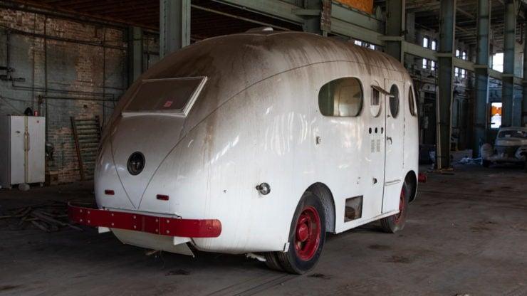 Western Clipper Motorhome Rear