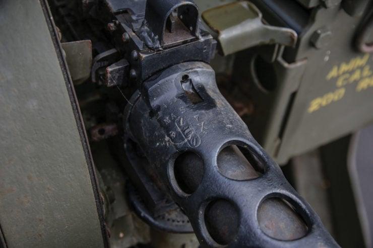 White M16 MGMC Half-Track Browning Gun