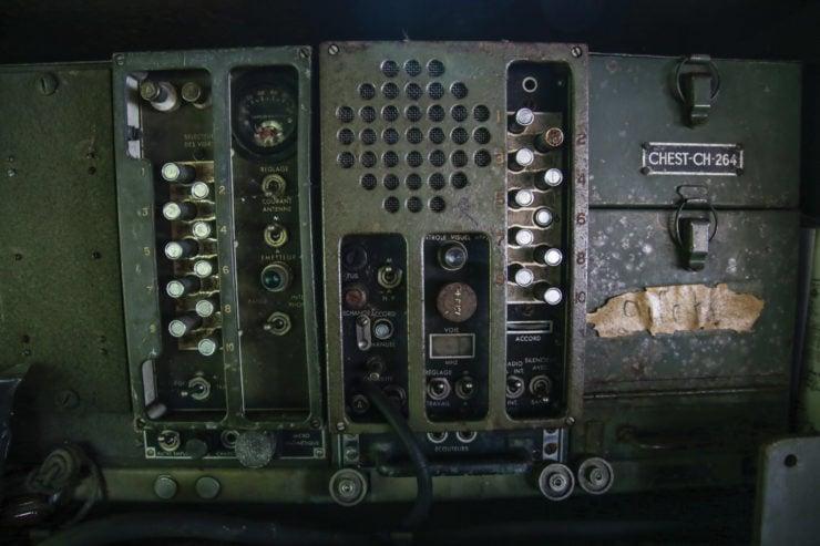 White M16 MGMC Half-Track Console