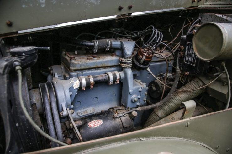 White M16 MGMC Half-Track Engine