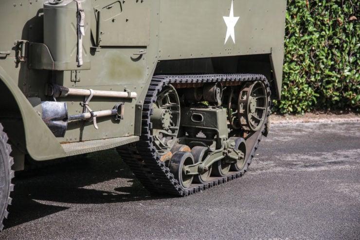 White M16 MGMC Half-Track Tracks