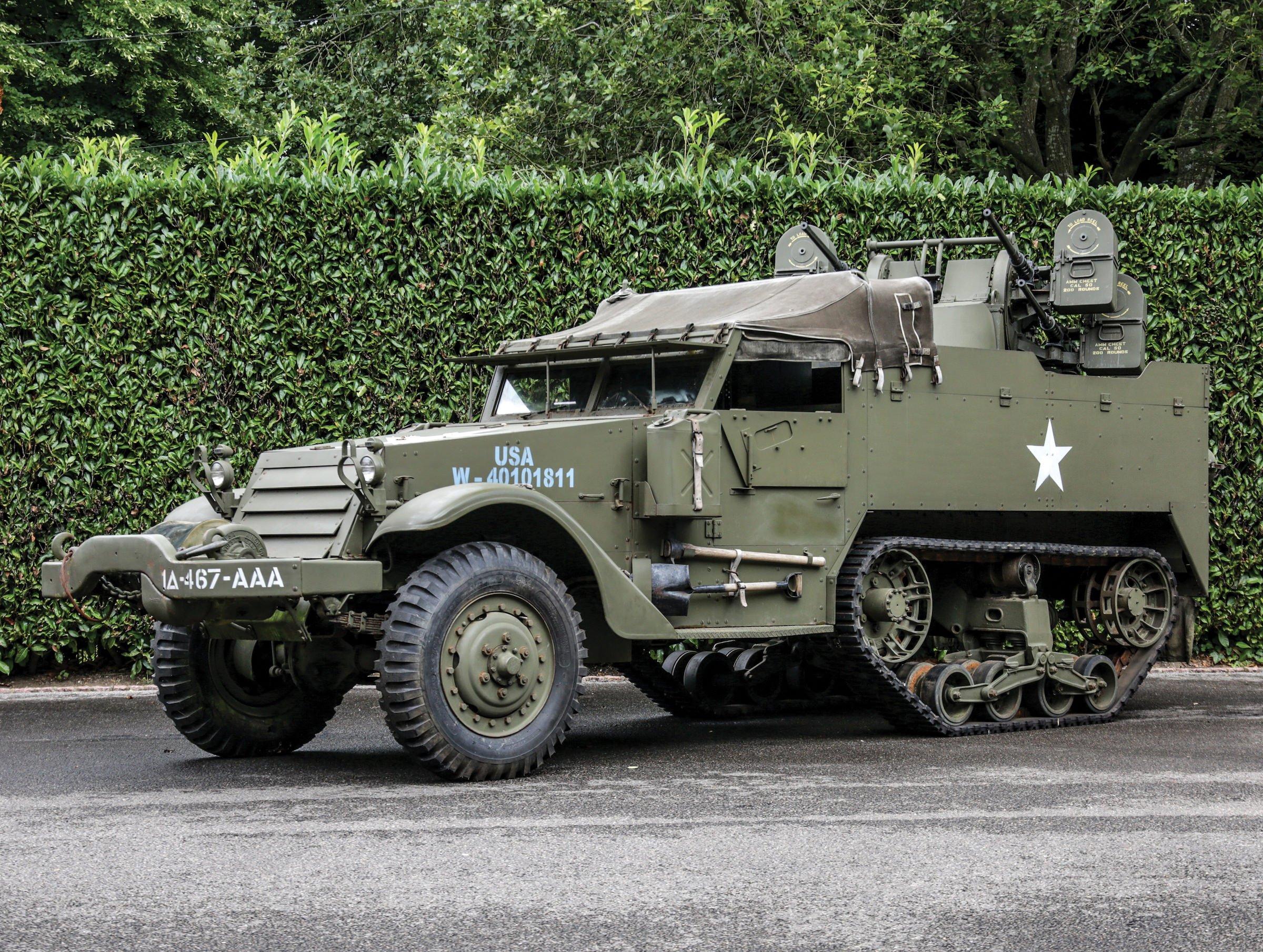 White M16 MGMC Half-Track