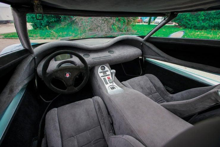 Zagato Raptor Concept Interior
