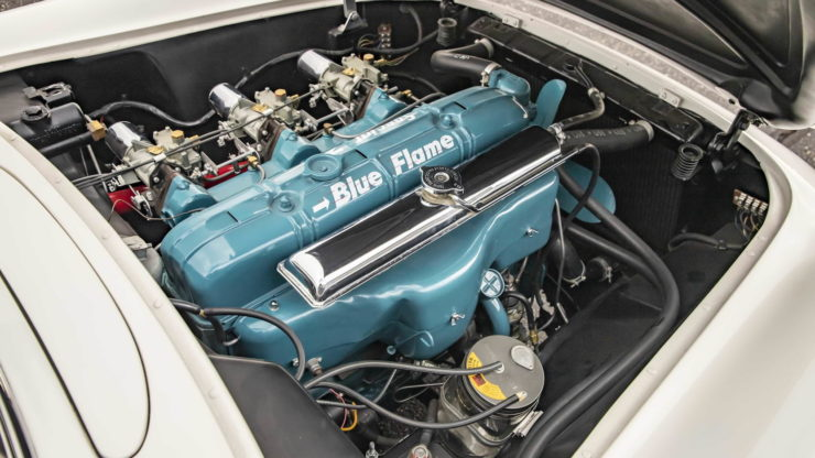 1953 Chevrolet Corvette Blue Flame Engine
