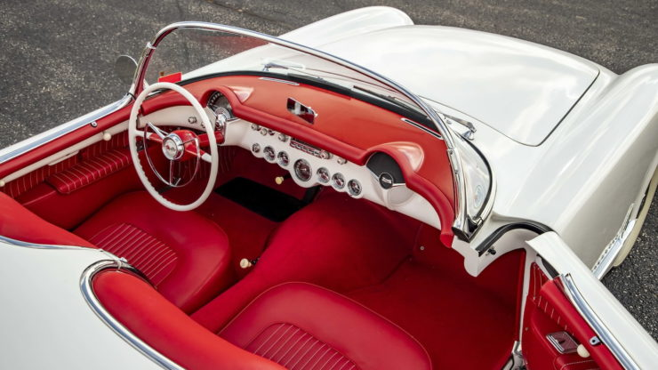 1953 Chevrolet Corvette Interior 2