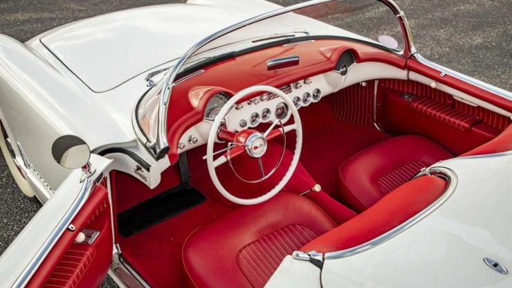 1953 Chevrolet Corvette Interior