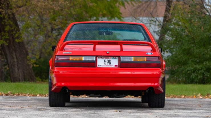 1993 SVT Mustang Cobra R Back