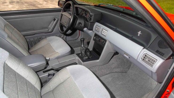 1993 SVT Mustang Cobra R Interior 2