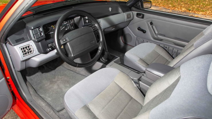 1993 SVT Mustang Cobra R Interior