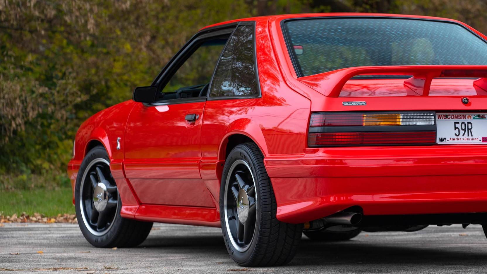 1993 SVT Mustang Cobra R Rear 3