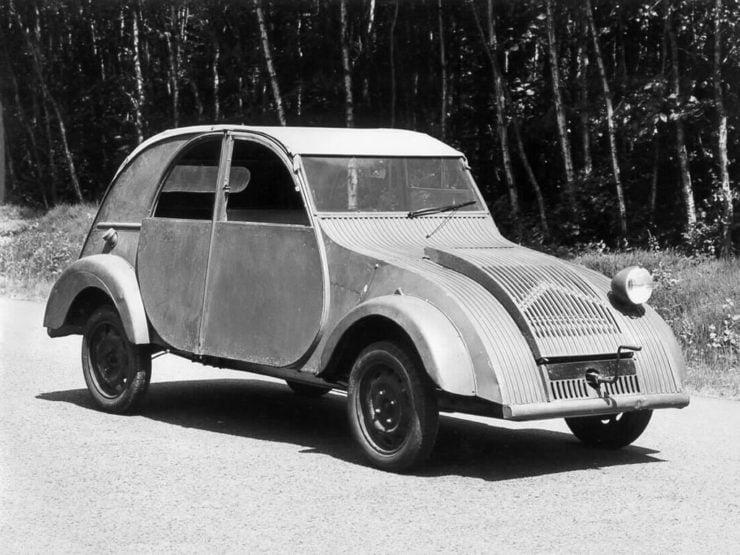 Citroën TPV 2CV prototype