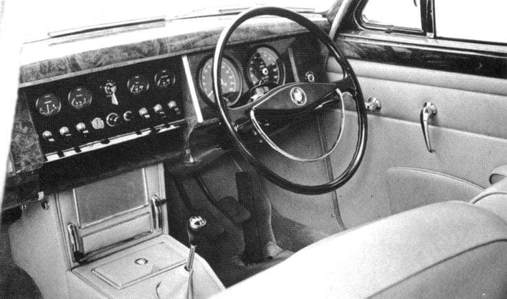 Jaguar MkI interior