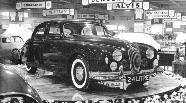Jaguar MarkI Earls Court London Motor Show