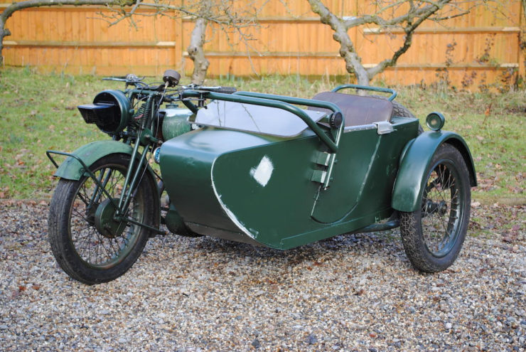 Norton WD16H military motorcycle