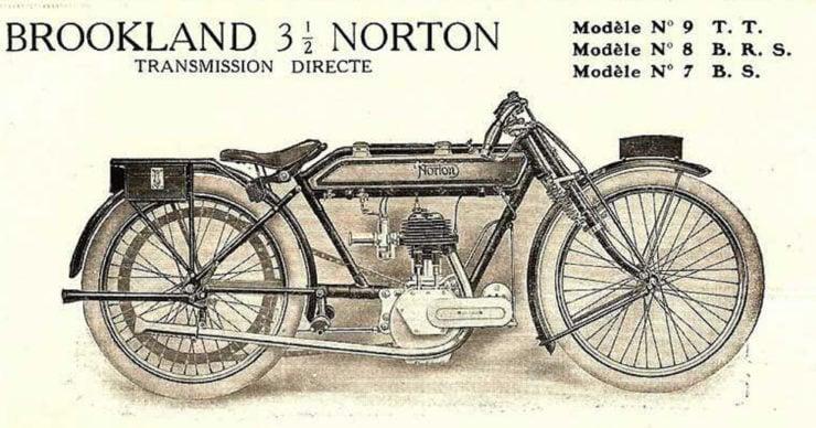 Norton 16H Brooklands Special motorcycle