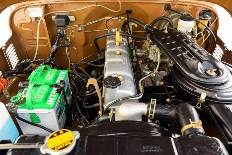 Toyota J40 Land Cruiser engine
