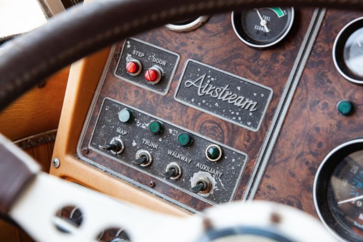 Airstream Excella 280 Motorhome Buttons