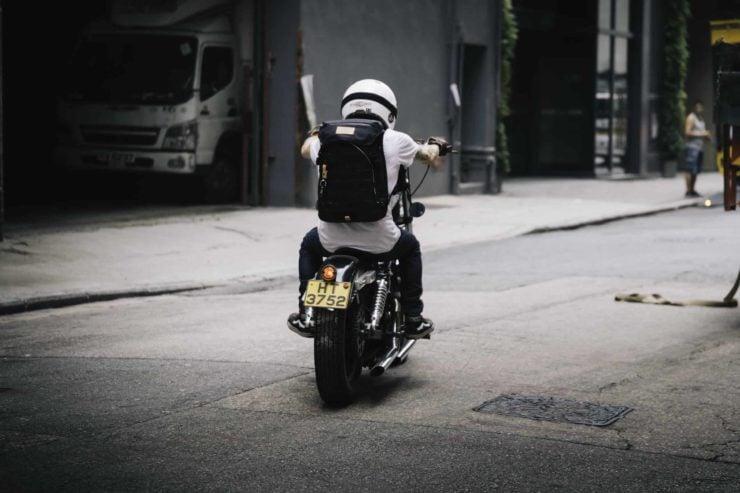 Angry Lane Black Rider Daypack Motorcycle 2