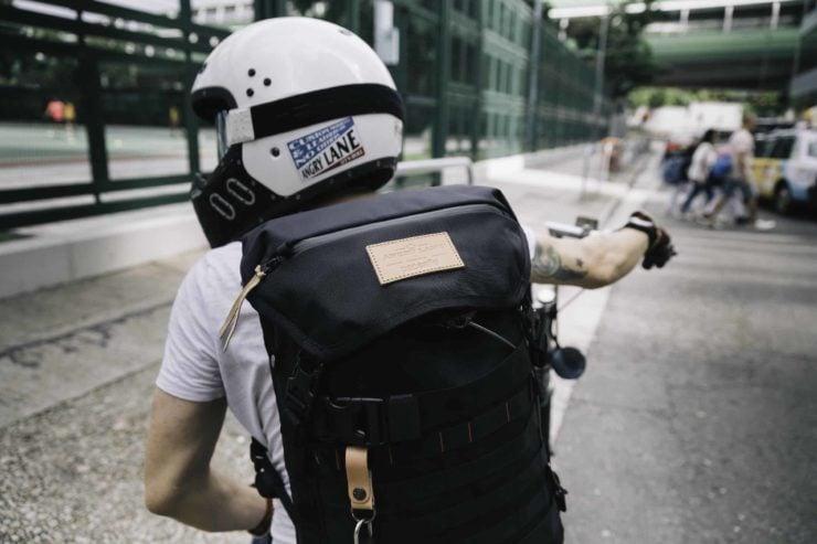 Angry Lane Black Rider Daypack Motorcycle 3
