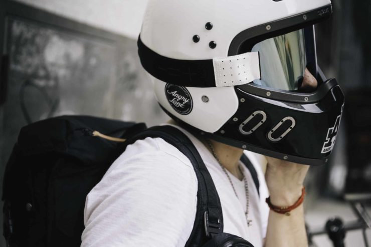 Angry Lane Black Rider Daypack Motorcycle